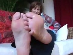 View Of Her Soles