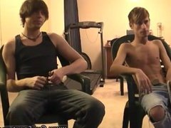 Twink boy sexy fuck porn gay movie Jared is jumpy about his first time