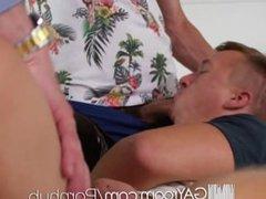 GayRoom - Blake Jordan & Leo Romero Let Daddy Help