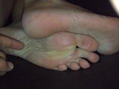 Sleepy Foot Fetish & Sleepy Soles Tickle and Long Toes (compilation)