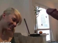 Hot Blonde Amateur Gets Her Tight Ass Banged