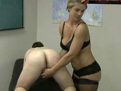 Dominant Milf Jerking You off In a PLate