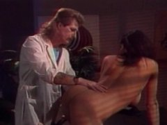 Sultry brunette gets spanked, grabbed and groped