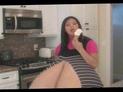 Monica's Big Fake Tits 02