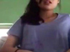Malay girlfriend masturbate fingering
