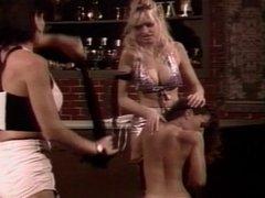 Three sexy lesbian hos in threesome