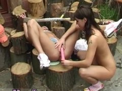 Young emo teen girl porn movies Cutting wood and eating pussy