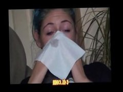 Nose Blowing at clips4sale.com