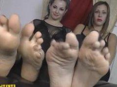 Nikki and Valora Foot Worship Pov