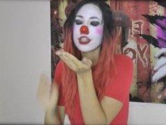 Clown girl giantess vore