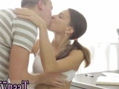 Duo teen girls cumshots Carre seduced by classmate