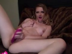Petite blonde Madi with small tits and tight pussy - 18flirt*com