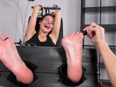 Czech Milf Foot Tickle Torture