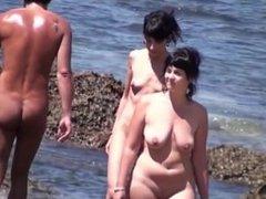 Nude beach sexy babes Spy cam HD Voyeur Video