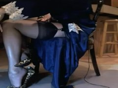 Classy Mature Females in Sheer Nylons
