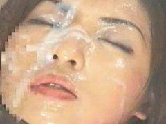 Bukkake swallows 100 cumshots Drinks Sperm Swallow cum_cumplaying