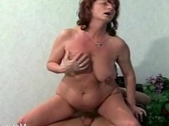 Saggy Granny Know How To Suck Cock