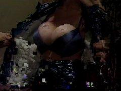 Secretary with big tits enjoy sucking cock