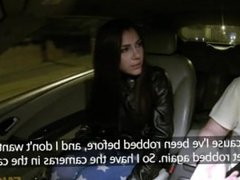 Fake Taxi - Hot brunette in front seat