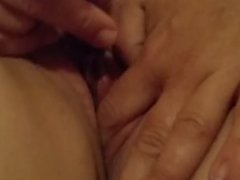 Dildo playing amateur