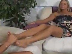 Veronika feet lickle worship tickle tasting her size 9