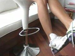 shoeplay in Nike Shox