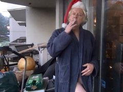 Naughty Gigi wishes you a Merry Christmas