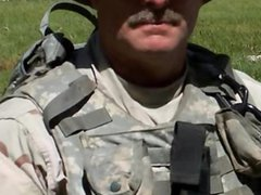 Soldier, Bill Bernhard coming out gay