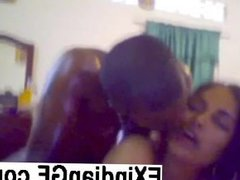 Indian couple fucking in front of webcam