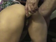 Mature Wife Serve Doggy Anal To Old Husband