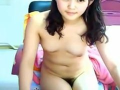 Cute Korean teen plays on cam.My X-mas live webcam show: 4xcams.com