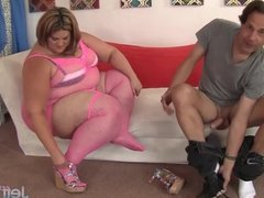 Tempting fat beauty Erin Green fucked by a lo