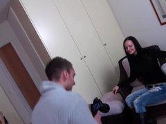 MAGMA FILM Casting a busty German MILF