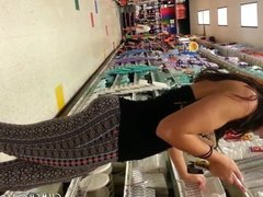 Hidden Cam Gorgeous Slut In A Store