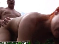 Older man fucks young straight male first time An virginal game of ping