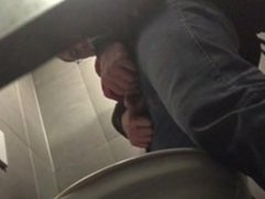 Spying at restroom 2