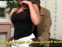 Big Tits Teen Takes Big Black Cock