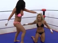 Wrestling Women in Trouble