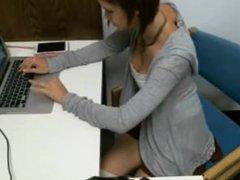 Library girl 6