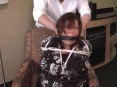 Elane Bound and Gagged in a Hotel Room