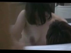 Voyeur couple spa