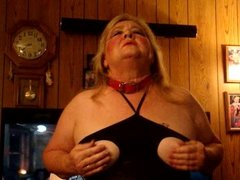 Pigdebbie getting  ready for a night out