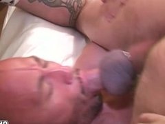 Twinks suck dick and hard plowing anal