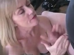 I am from CHEAT-MEET.COM - Two Cocks For MILF Melani