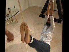 Nykisha Bastinado and Light Feet Torture
