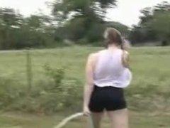 Fun with waterhose - Bigger