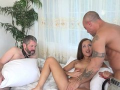 Holly Hendrix Cuckolds Husband and Gets Dick
