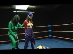 Super Hero Wrestling Part 1