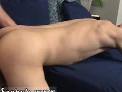 Gay boys twinks feet tube Marco shoots his load all over his smooth abs