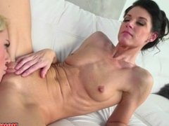 Moms Bang Teen - stepMom From SEXDATEMILF.COM and step daughter share cock